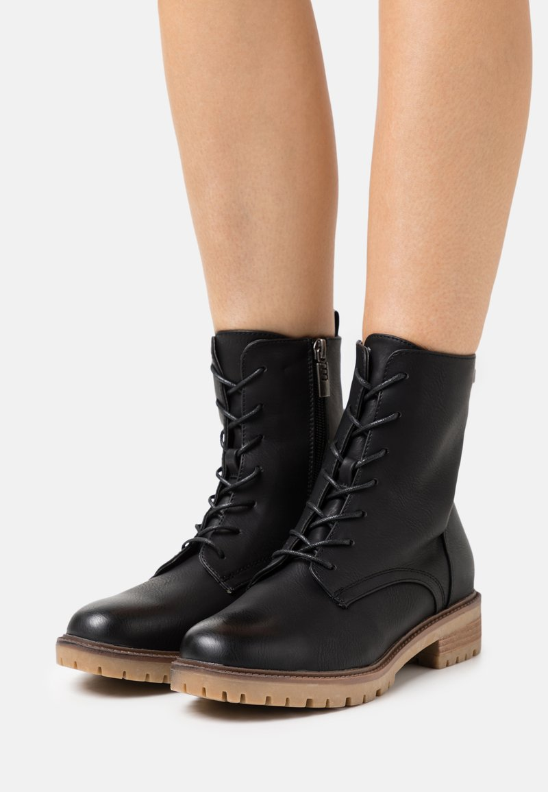 mtng - CAMPA - Lace-up ankle boots - black