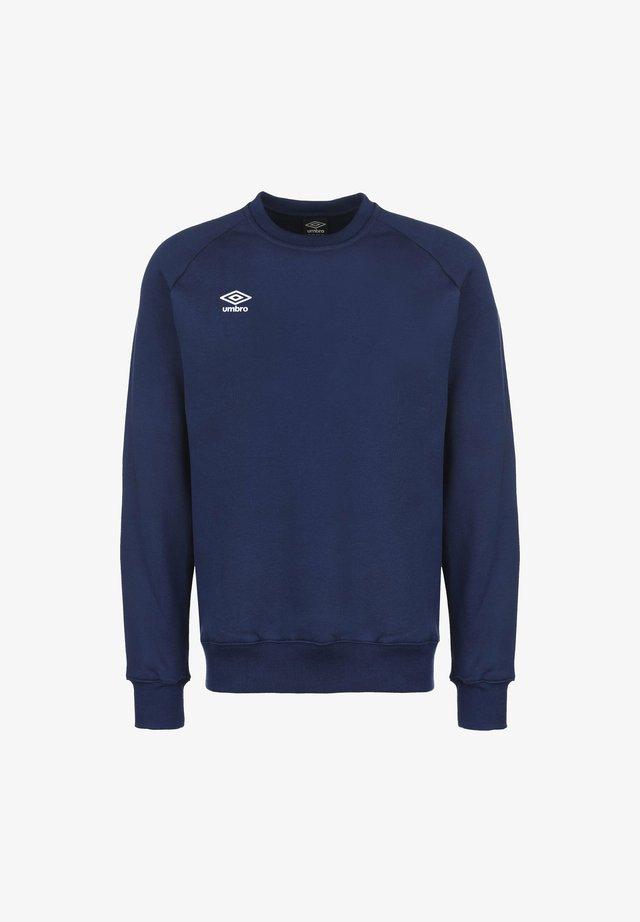 Sweatshirt - dark navy / white