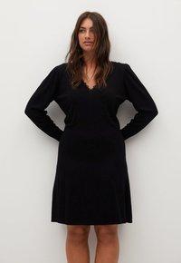 Violeta by Mango - BLONLI - Day dress - black - 0