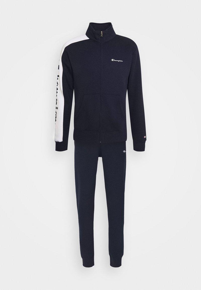Champion - FULL ZIP SUIT - Träningsset - dark blue