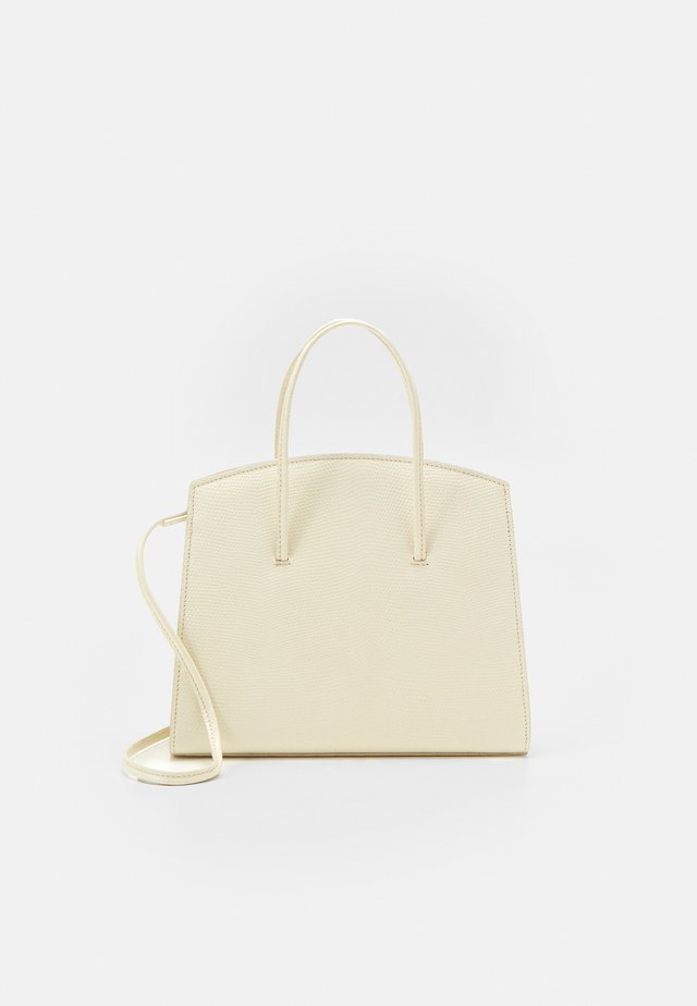 MINIMAL MINI TOTE - Käsilaukku - light beige