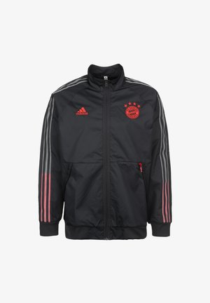OLYMPIQUE LYON AEROREADY - Sports jacket - night grey