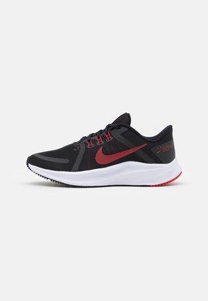 QUEST 4 - Neutral running shoes - black/university red/white/dark smoke grey