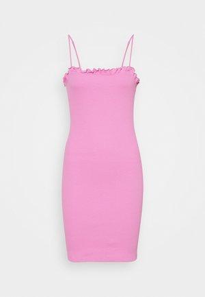 PCTEGAN STRAP DRESS - Strikket kjole - cyclamen