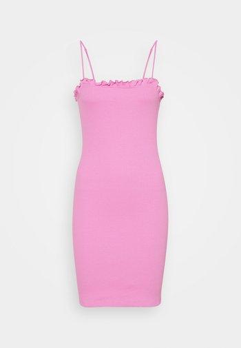 PCTEGAN STRAP DRESS - Jumper dress - cyclamen