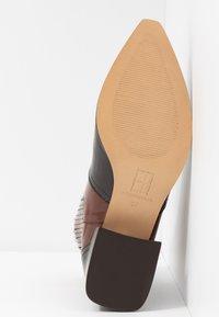 E8 BY MIISTA - MINEA - Biker-/cowboynilkkurit - dark brown/brown - 6