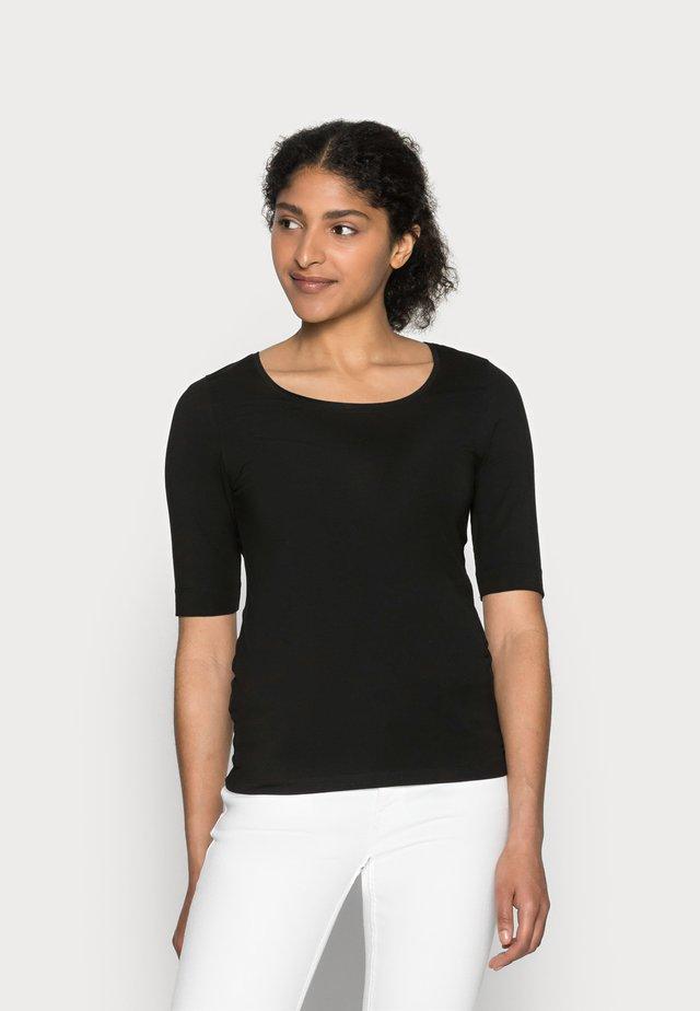 SANIKA  - T-shirts - black