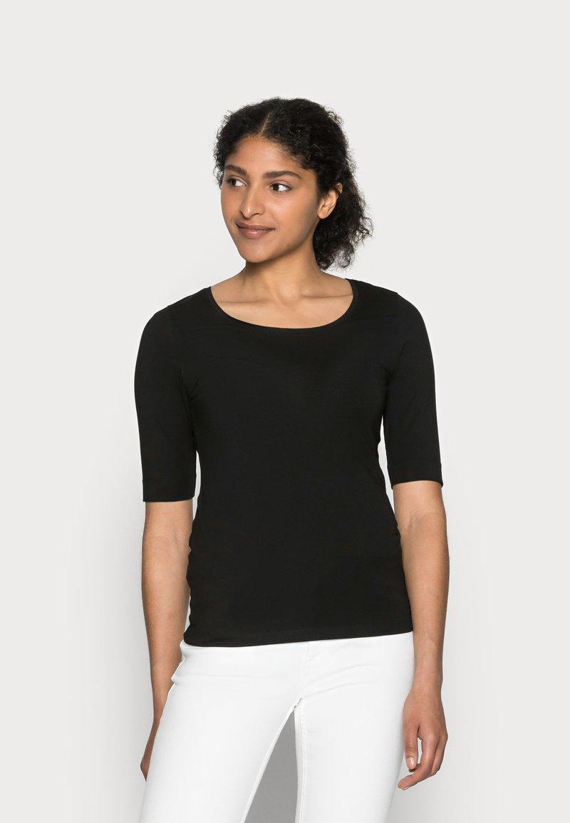 Opus - SANIKA  - T-shirt - bas - black