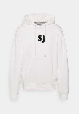 TOWEL PRINT HOODIE - Sweatshirt - off-white