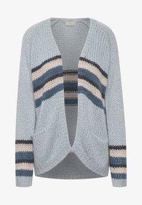 Kaffe - BPKANVA - Cardigan - blue fog with stripes - 3