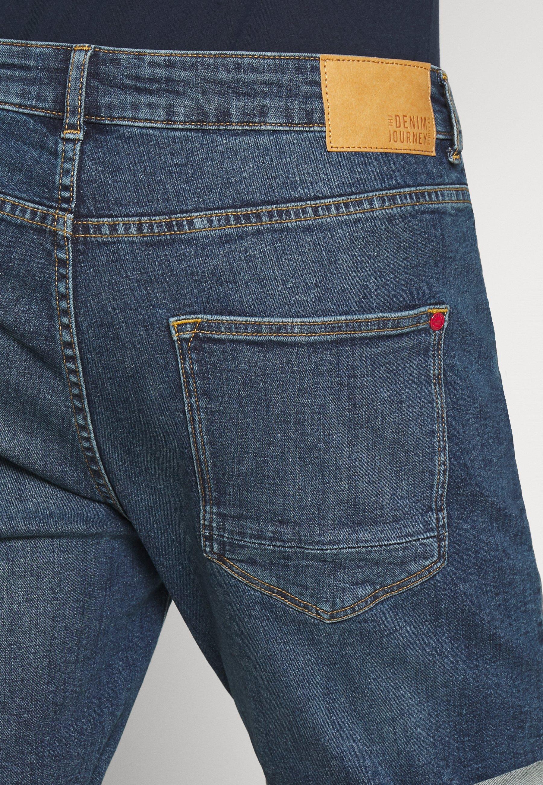 Uomo REGULAR RYDER - Shorts di jeans