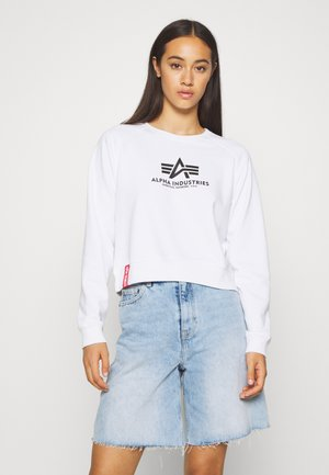 BOXY - Sweatshirt - white