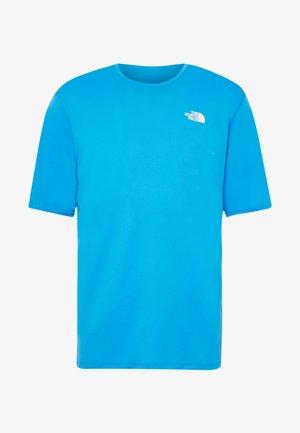 MEN'S FLEX II - T-shirt z nadrukiem - clear lake blue