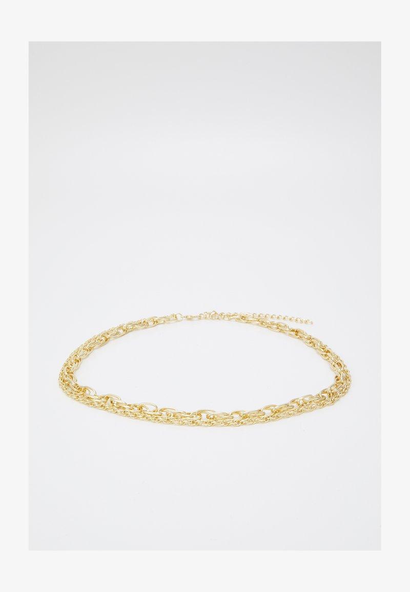 Pieces - PCZETA CHAIN WAIST BELT KEY - Midjeskärp - gold color