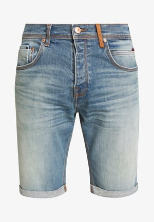 CORVIN - Jeansshorts - luther wash