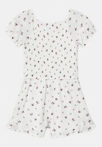 Abercrombie & Fitch - SMOCKED ROMPER - Tuta jumpsuit - white - 1