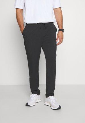 CLUB PANTS WITH DRAWSTRING - Kalhoty - grey mel
