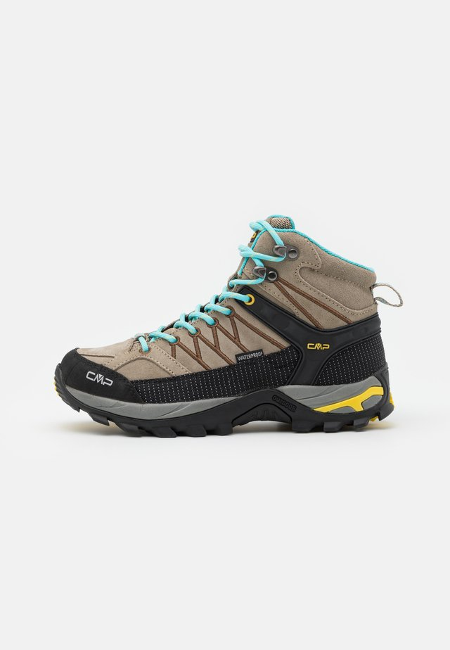 RIGEL MID TREKKING SHOE WP - Outdoorschoenen - corda/lemon