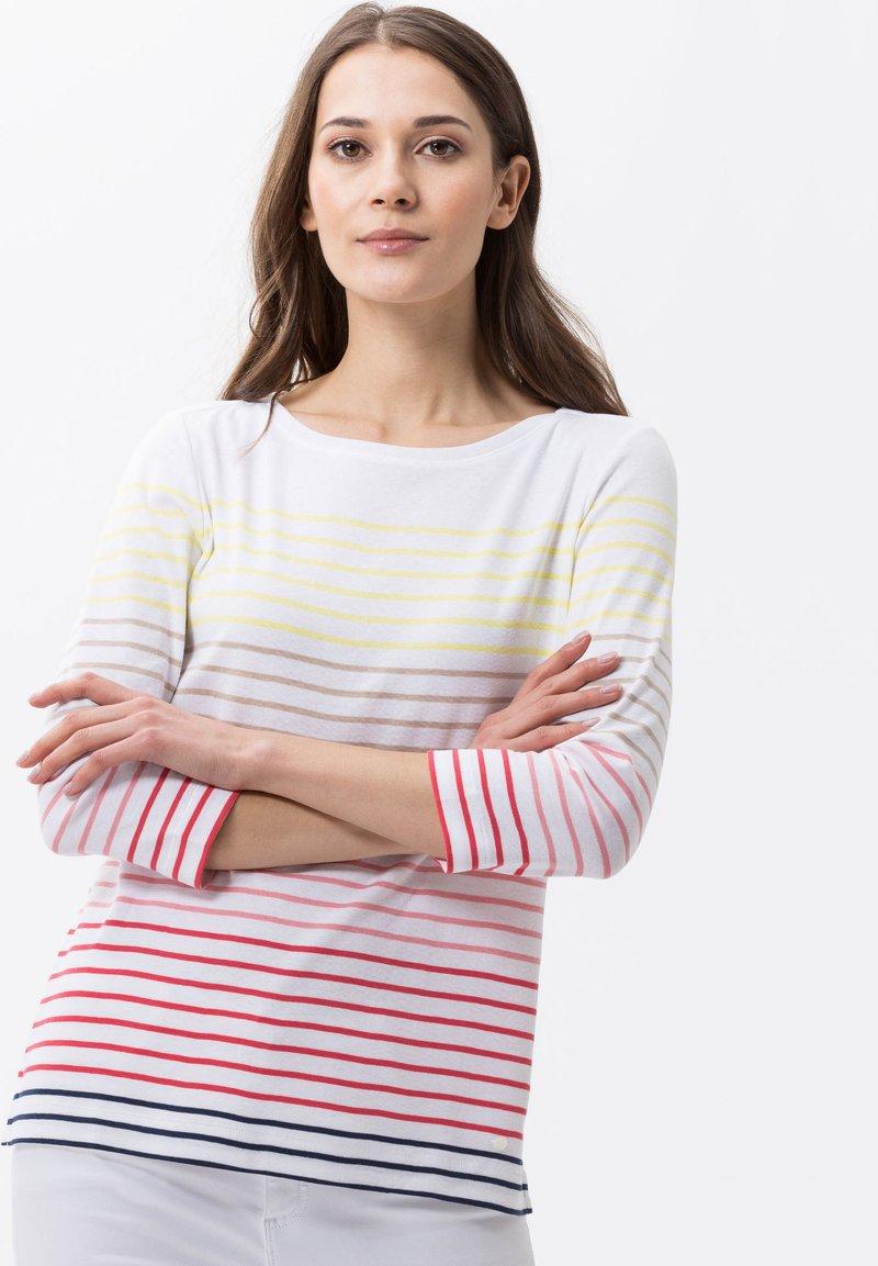 BRAX - STYLE COLLETTA - T-shirt à manches longues - papaya