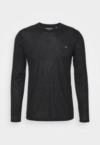 Calvin Klein Golf - LONG SLEEVE 3 PACK - Maglietta a manica lunga - black/white/charcoal - 1