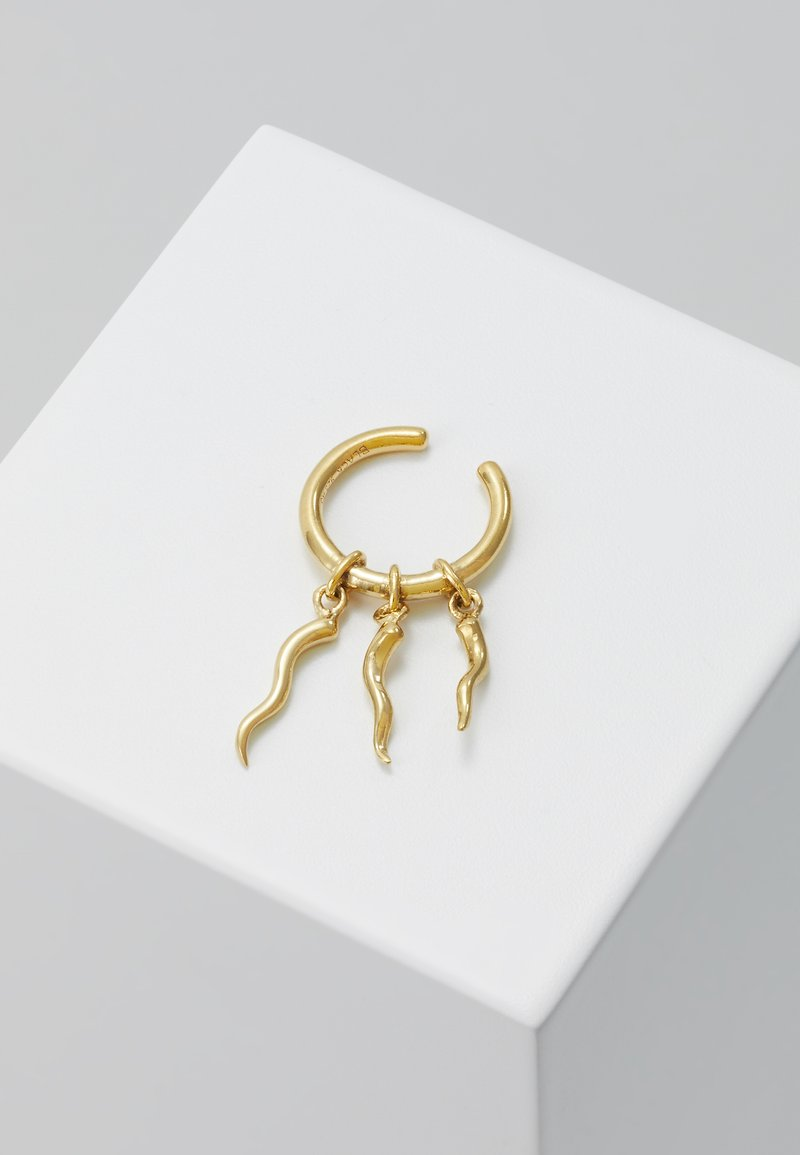 Maria Black - MEDUSA EAR CUFF - Kolczyki - gold-coloured