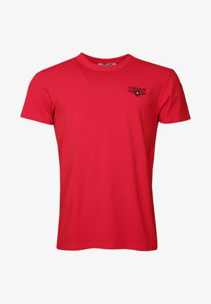 MIT TROPICAL - Basic T-shirt - red