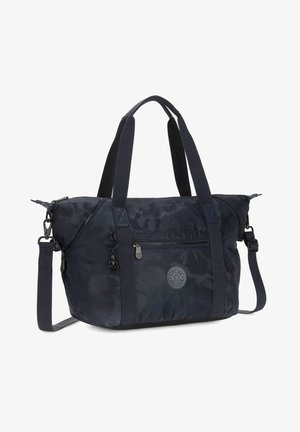 Tote bag - satin camo blue