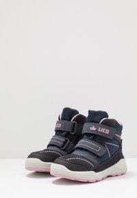 LICO - LEVANO - Zimní obuv - marine/rosa - 3