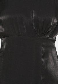 YAS Petite - SHINE SHORT DRESS PETITE - Vestido de cóctel - black - 2