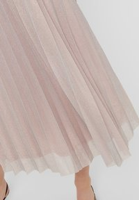 ONLY - Pleated skirt - Dusty Pink - 4