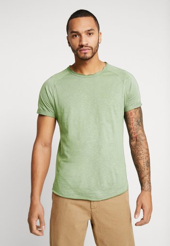 KAS TEE - T-shirt - bas - duck green