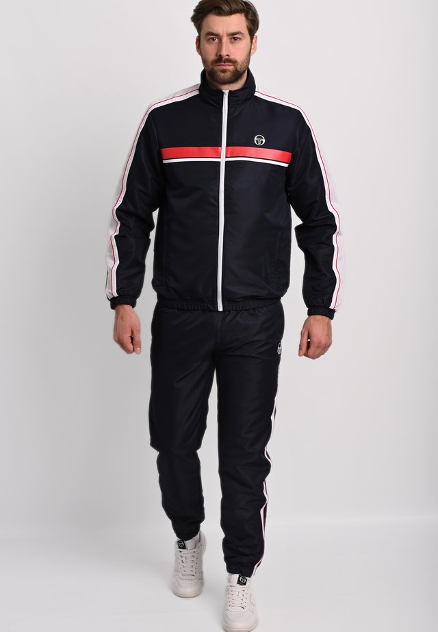AGAVE TRACKSUIT SET - Trainingsanzug - night sky / tango red