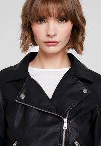 ONLY - ONYFILIPPA - Faux leather jacket - black - 5