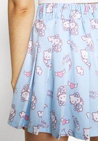 NEW girl ORDER - HELLO SKIRT - Minijupe - blue - 4