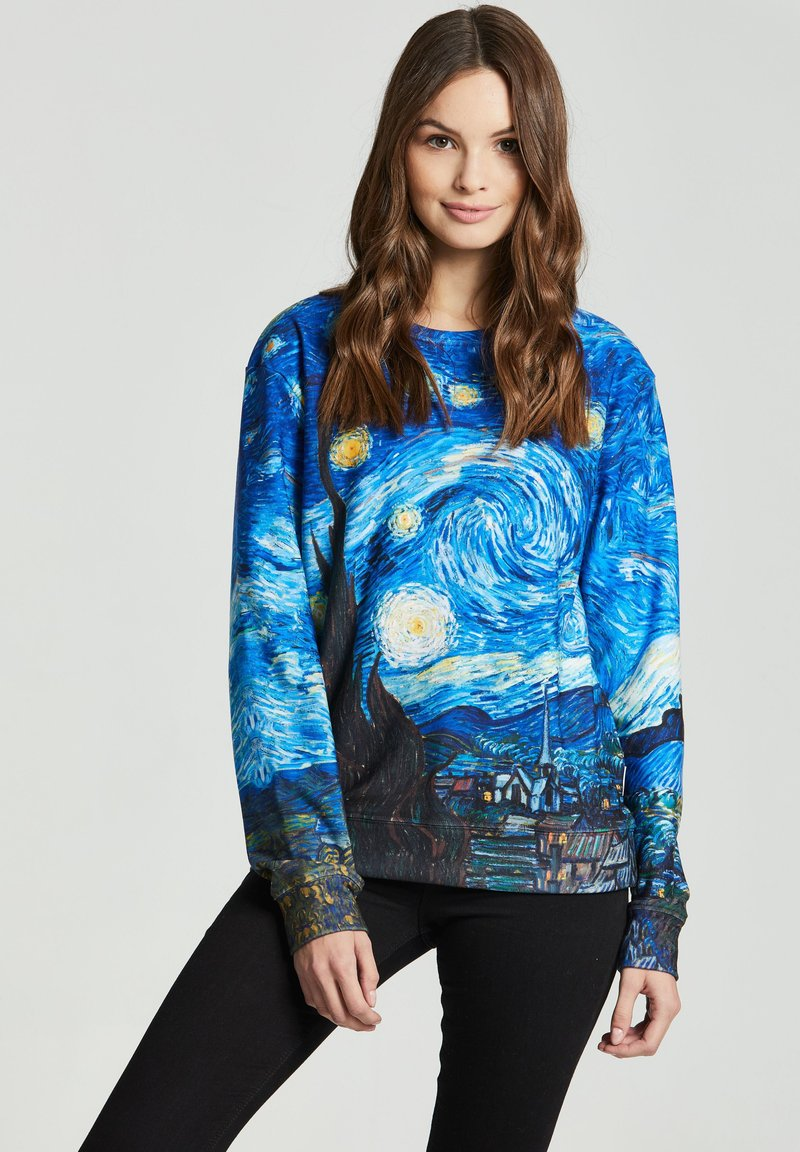 Mr. GUGU & Miss GO - THE STARRY NIGHT - Sweatshirt - blue