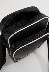 adidas Originals - MINI BAG VINT - Across body bag - black - 4