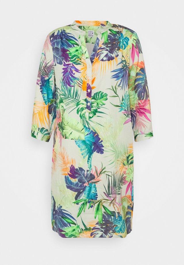 Vestito estivo - khaki/multicolour