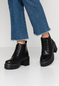 Koi Footwear - VEGAN DL2 - Kotníková obuv - black - 0
