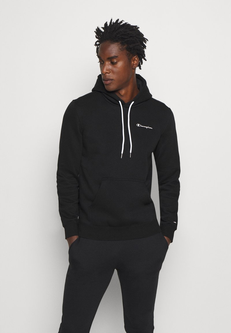 Champion - LEGACY HOODED - Bluza z kapturem - black