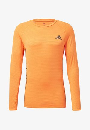 RUNNER LONG-SLEEVE TOP - Long sleeved top - orange