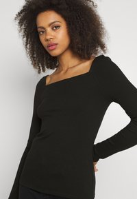 Forever New - SALLY SQUARE NECK - Long sleeved top - black - 3