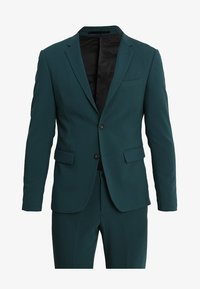 Lindbergh - PLAIN MENS SUIT - Kostuum - dark green - 10