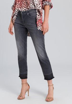 Straight leg jeans - grey denim