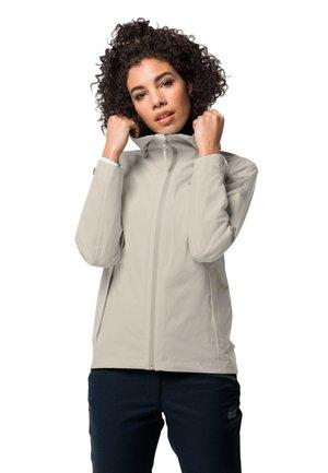JWP SHELL - Waterproof jacket - dusty grey