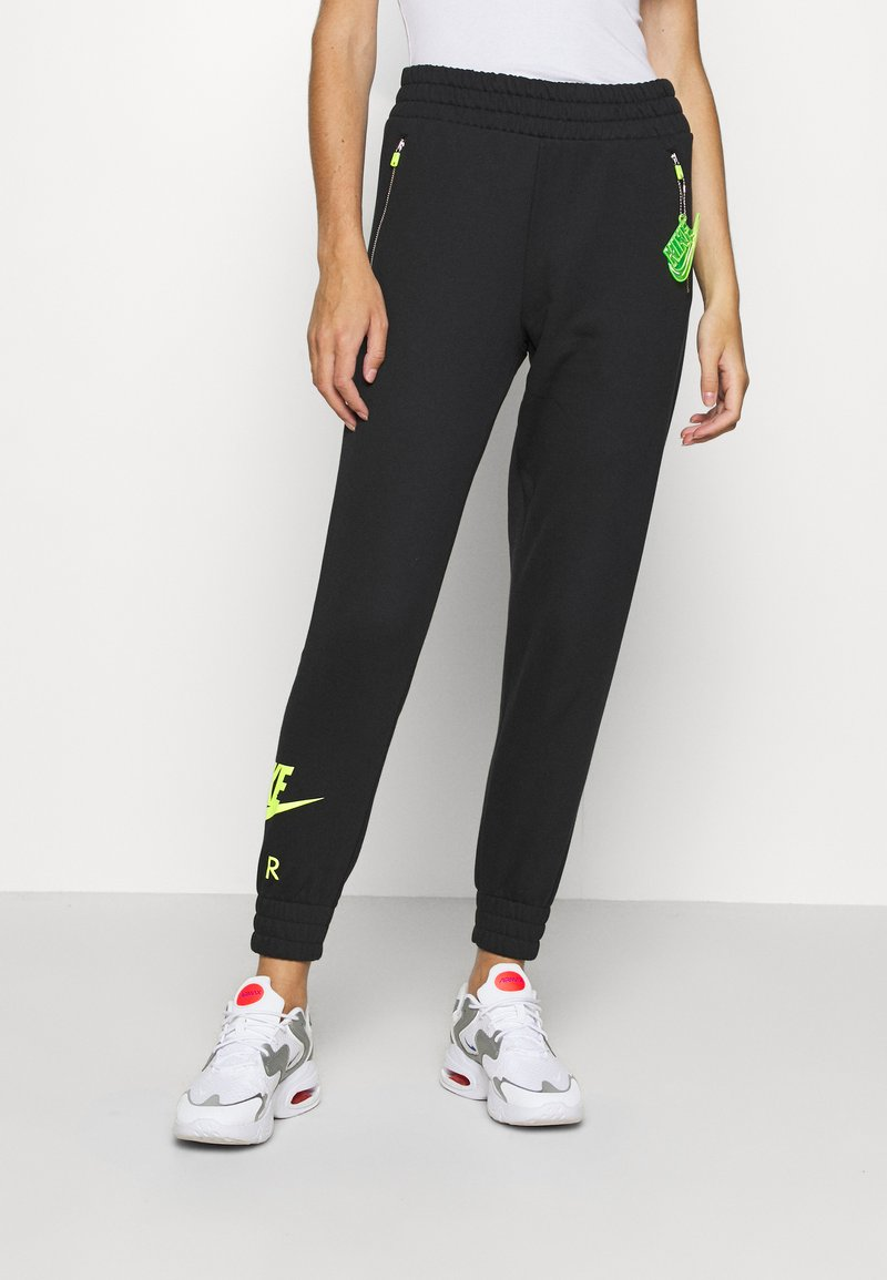 Nike Sportswear - AIR PANT   - Tracksuit bottoms - black