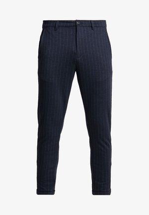 PISA PINSTRIPE - Chino kalhoty - navy pin