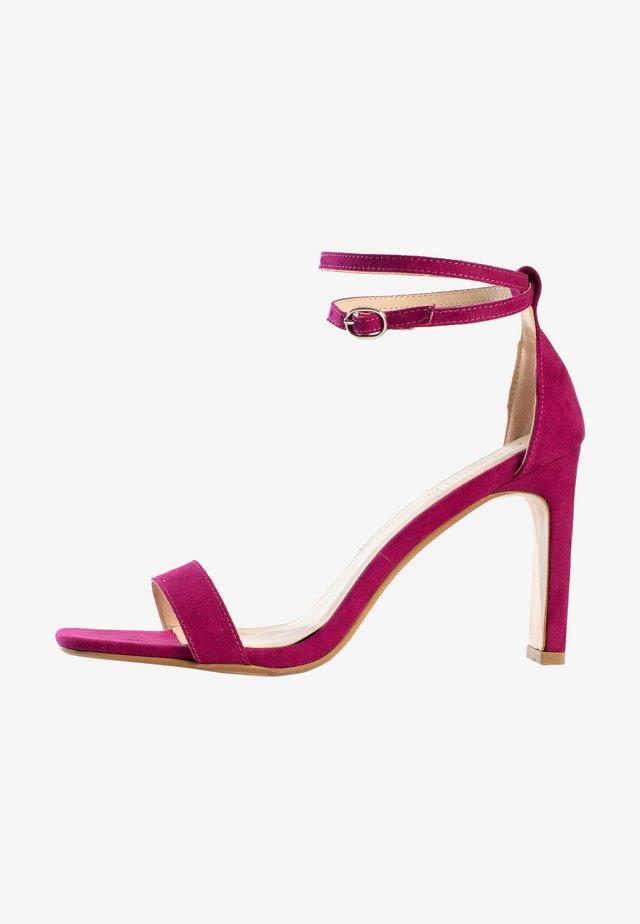 CORY - Sandalen met hoge hak - purple