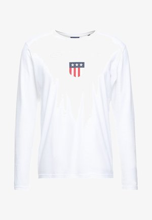 SHIELD - Långärmad tröja - white
