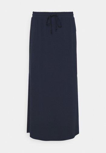 VIDELL MAXI SKIRT - Maxi sukně - navy blazer