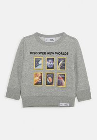 GAP - TODDLER BOY NATIONAL GEOGRAPHIC GEO CREW - Sweater - light heather grey - 0
